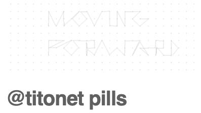 Titonet Pills // mes de Mar 2020